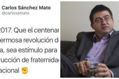 El concejal comunista de Ahora Madrid que celebra el genocidio de la revolución rusa