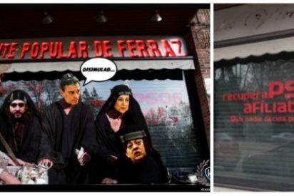 La sede fantasma del PSOE y las ganas de fastidiar