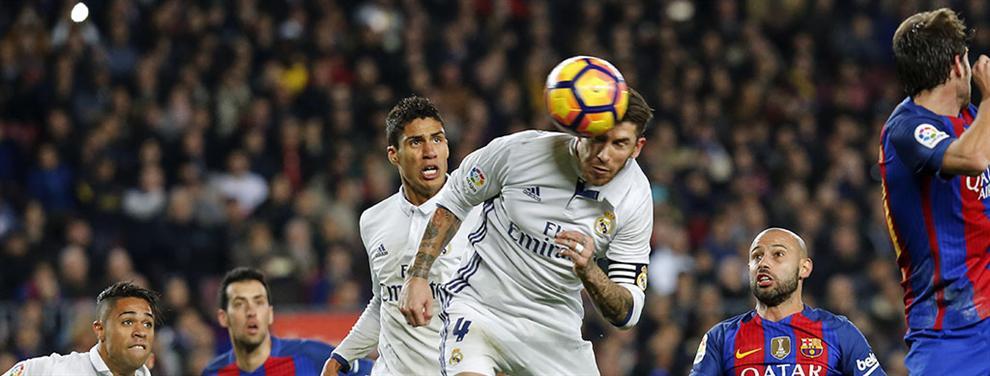 Sergio Ramos deja en evidencia a un crack del Barça