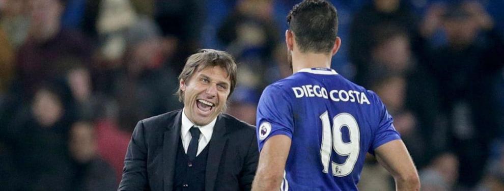 Simeone presiona a la directiva tras el desencuentro entre Costa y Conte
