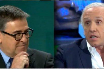 El economista Juan Torres escapa del plató de 'La Sexta Noche' tras ser acusado por Eduardo Inda de ser de Podemos