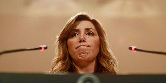 La 'gira' por España de Susana Díaz arranca con insultos a Patxi López