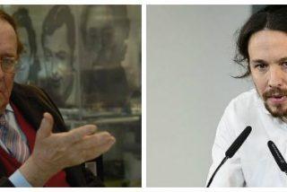 """Tamames se mofa Iglesias: """"Es una chorrada que él ahora vaya de ateo"""""""
