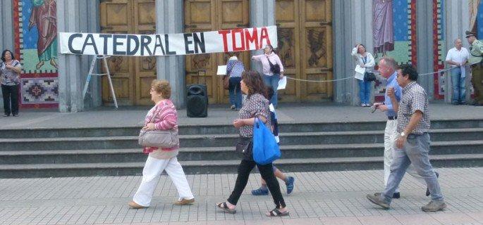 Organización laical toma la catedral de Osorno