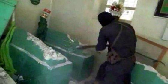 Las fuerzas aliadas recuperan la tumba de Jonas destruida por los cafres de ISIS