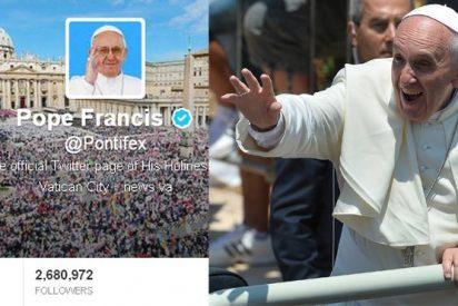 El Twitter del Papa arranca 2017 con 32 millones de followers