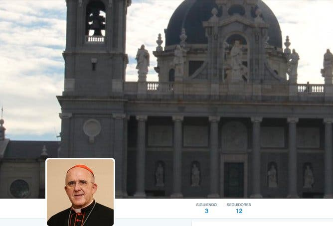 Carlos Osoro se estrena en Twitter