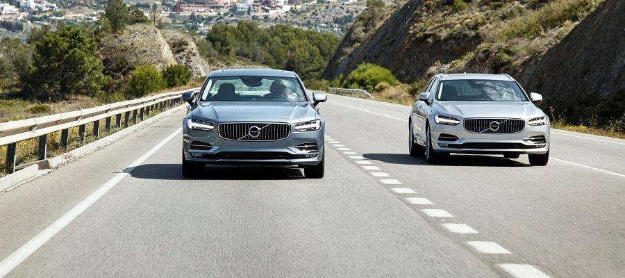 Volvo S90 y V90, 5 estrellas EuroNCAP sin fisuras