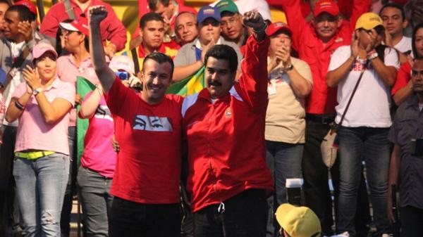 Con esta guasa coloca el descocado Maduro de vicepresidente a un investigado por la DEA