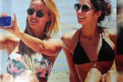 Xisca Perelló, la callada novia de Rafa Nadal, luce cuerpazo en las playas de Melbourne