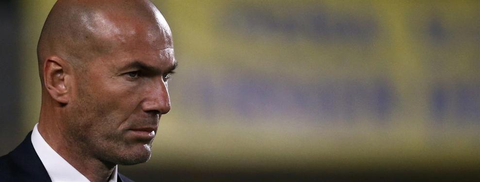 Zidane atiza a un crack del Real Madrid en privado
