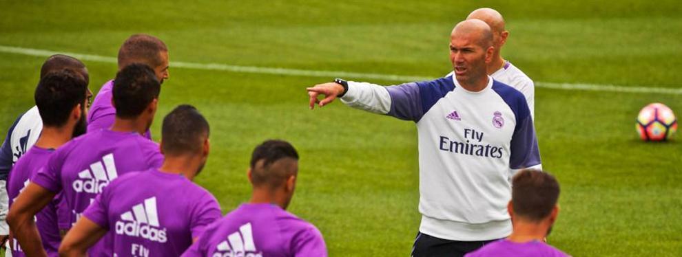 Zidane intenta colocar a un jugador del Real Madrid en China (y no es James)