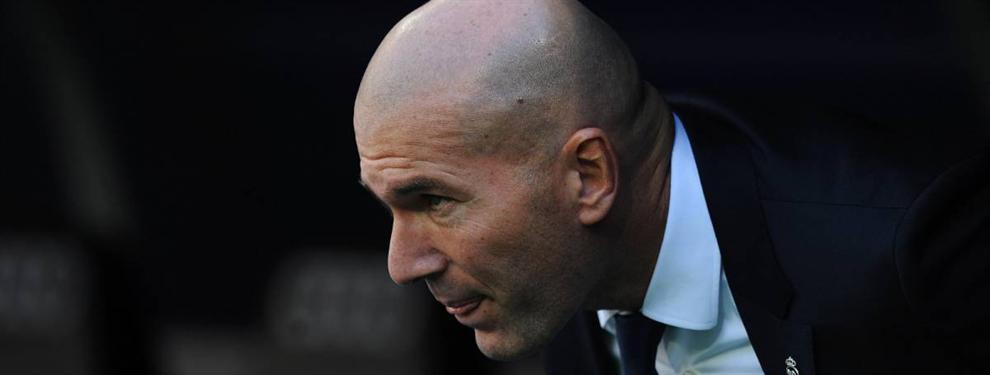 Zidane reconoce (en privado) su error con un jugador del Barça