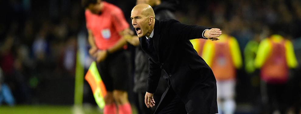 Zidane responde a la última provocación interna en el Real Madrid