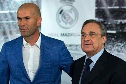 Zidane se carga un fichaje de Florentino Pérez (¡Y el jugador atiza al Madrid!)