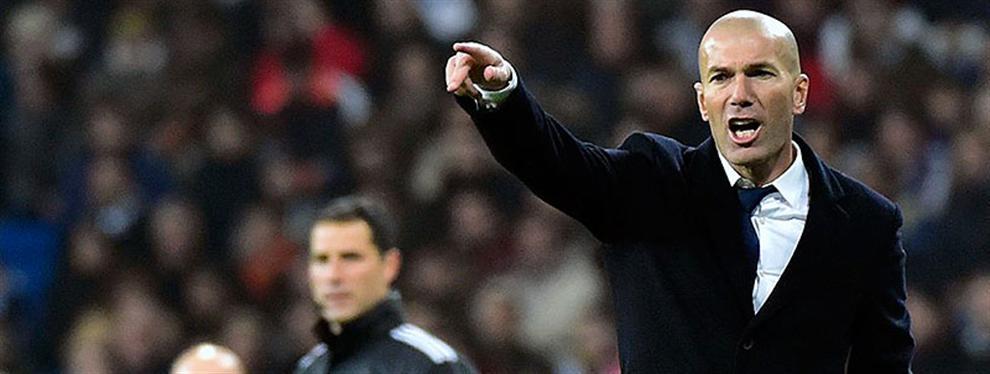 Zinedine Zidane pone 'patas arriba' al Barça nada más empezar el año