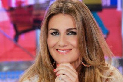 Carlota Corredera menta en la cadena SER la crisis de audiencia de Mediaset, 'la bicha' de Paolo Vasile