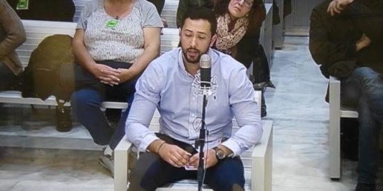 El rapero bocazas imputado por injuriar al Rey reitera en la Audiencia que Pablo Iglesias le encargó la canción ofensiva
