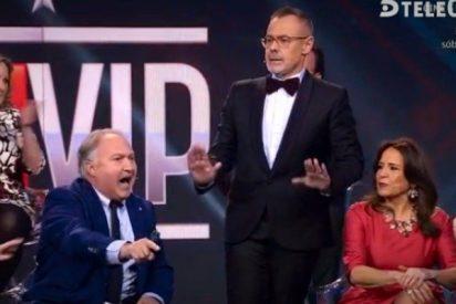 Telecinco o todo por la audiencia con agresión en plató y grave insulto machista: ¡puta vieja!