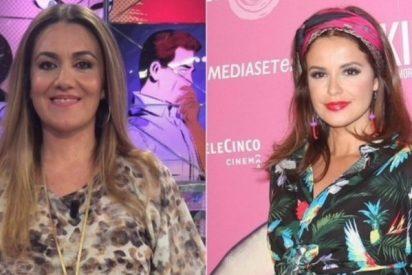 Carlota Corredera se queda atónita y con la boca abierta al comprobar la venganza de Marta Torné