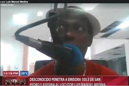 [VÍDEO] Matan en directo a un locutor y al director de una emisora de radio