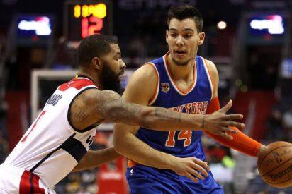 Willy Hernangómez estrena titularidad en la NBA con un destacado 'doble-doble': 15 puntos y 14 rebotes