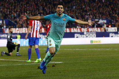 El Barcelona sufre pero gana en el Vicente Calderón ante el Atleti