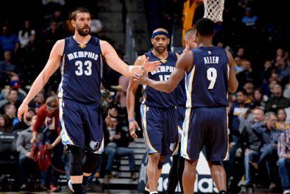 Willy Hernangómez pide su sitio en los Knicks y Marc Gasol vuelve a liderar a los Grizzlies