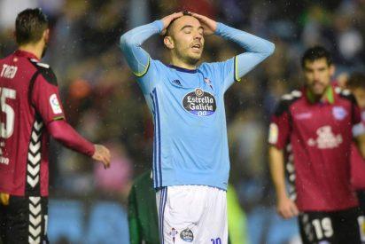 La madera frena a Aspas: Celta de Vigo 0 - Deportivo Alavés 0