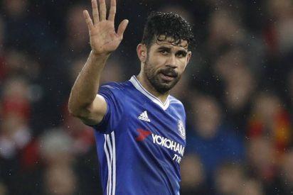 Diego Costa se marchará al fútbol chino el próximo verano