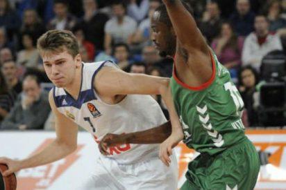 Luka Doncic termina con tres años de sequía blanca: Baskonia 71 - Real Madrid 79