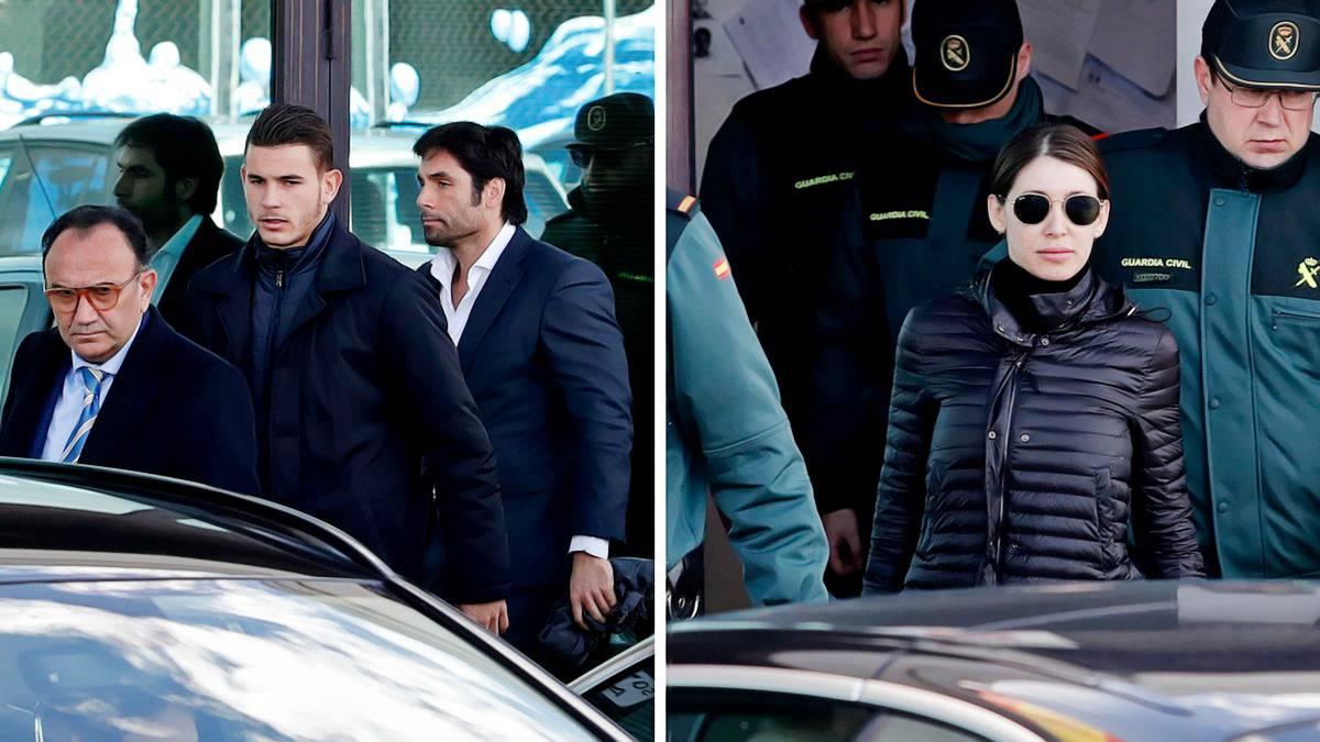 La Fiscalía pide 7 meses de cárcel para Lucas Hernández y 6 para su pareja por 'pegarse'