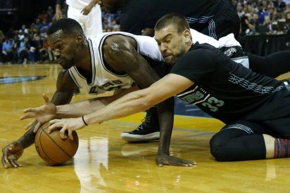 Marc Gasol bate a unos Spurs sin su hermano y Ricky Rubio se acostumbra al 'doble-doble'