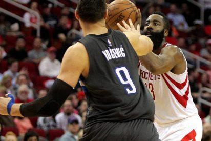 Ibaka se eleva hasta 28 puntos sin recompensa ante los Rockets de su excompañero Harden