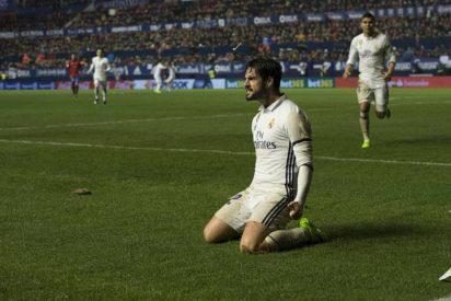 El equipo de Zidane se merendó a otro: Osasuna 1 - Real Madrid 3
