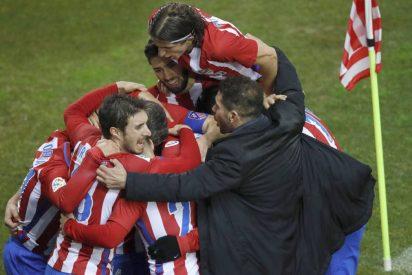 La feroz fe del 'Pupas' de Simeone: Atlético de Madrid 3 - Celta de Vigo 2