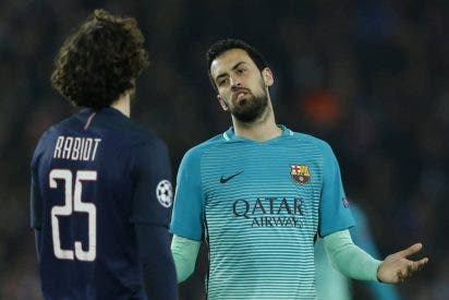 """Sergio Busquets: """"Es una derrota muy dura y dolorosa"""""""