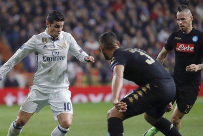 """James: """"He dicho siempre que quiero seguir muchos años en el Real Madrid"""""""