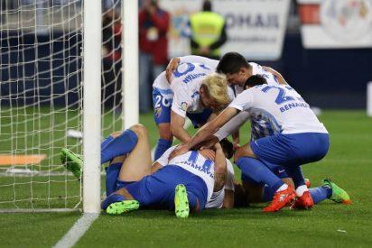 Agónica victoria del Málaga ante un Las Palmas atascado (2-1)