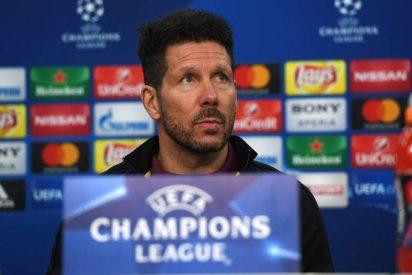 """Cholo Simeone: """"Oblak está para jugar contra el Leverkusen, pero no he decidido aún"""""""