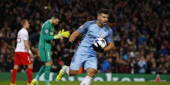 Agüero sale al rescate de Guardiola: Manchester City 5 - AS Mónaco 3