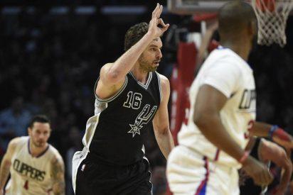 Pau Gasol vuelve a lo grande: doble-doble (17+11) y victoria ante los Clippers