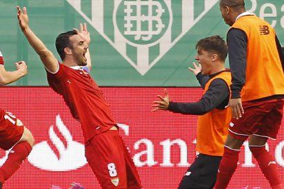 El Sevilla remonta al Betis y alarga su racha en el Villamarín