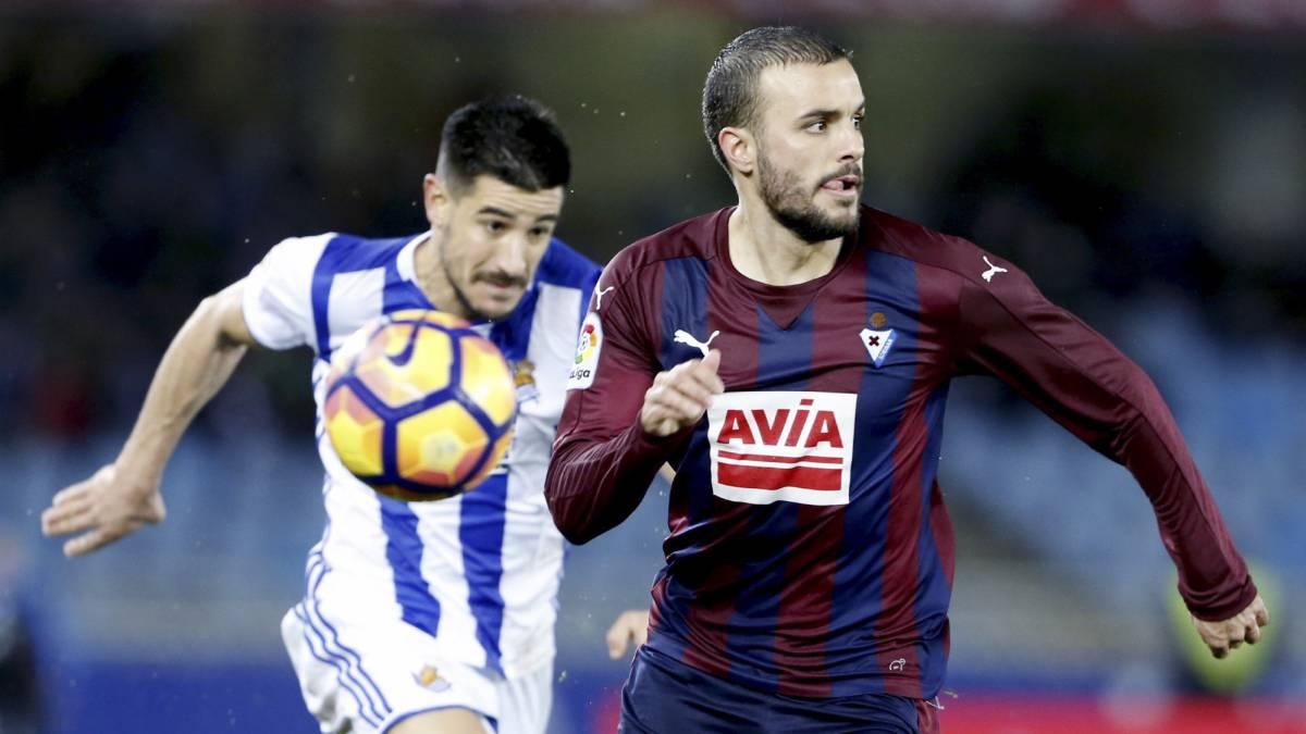El Eibar salva un punto 'in extremis' ante la Real Sociedad