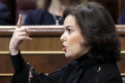 La vice Soraya torea a Tardá, corta orejas y rabo, y sale ovacionada del ruedo del Congreso