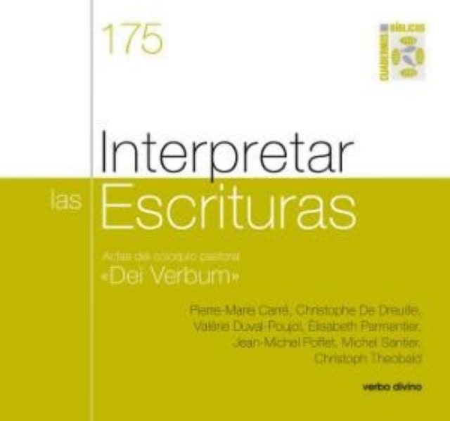 """Interpretar las Escrituras"""