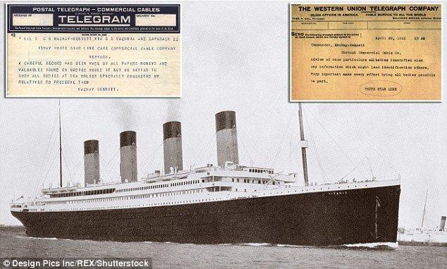 Los telegramas que revelan la marranada que hicieron con las víctimas pobres del Titanic