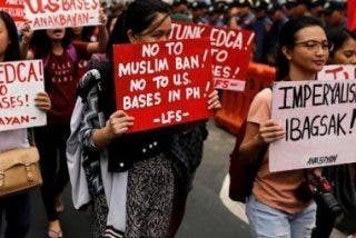 Protesta en Manila contra la pena de muerte
