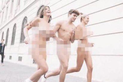 La youtuber 'Dulceida' sale corriendo desnuda por las redes sociales