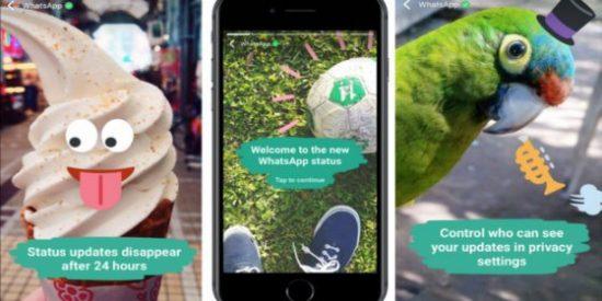 Cómo utilizar la nueva función 'estados' de WhatsApp para no quedarte descolgado